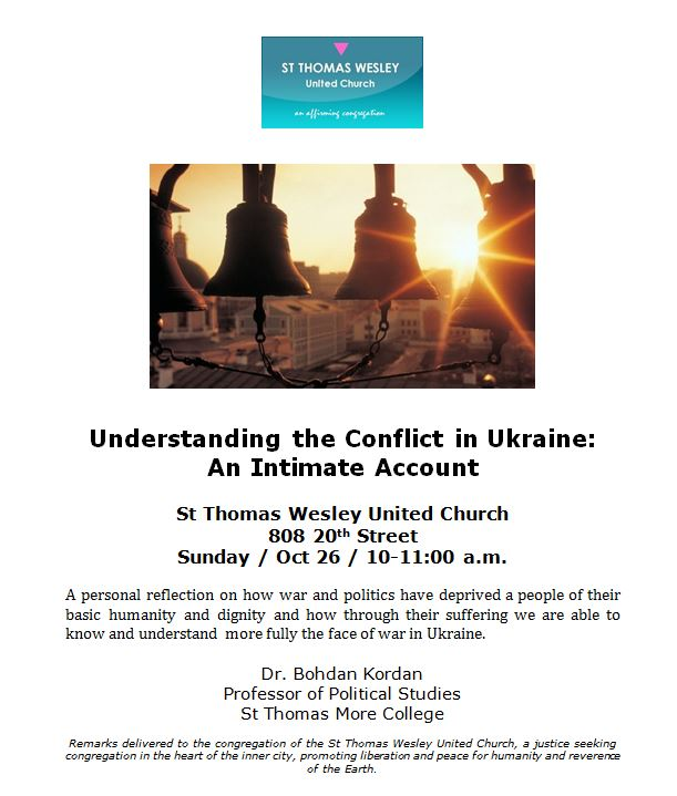 Kordan conflict lecture