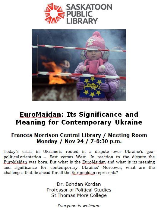 Kordan euromaidan lecture