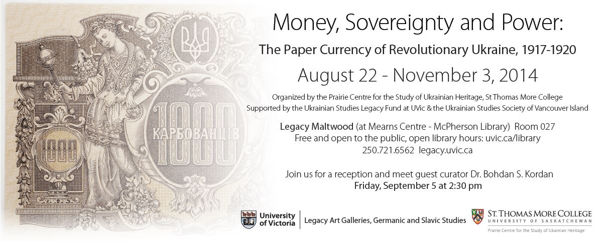 Money, Sovereignty, and Power UVic