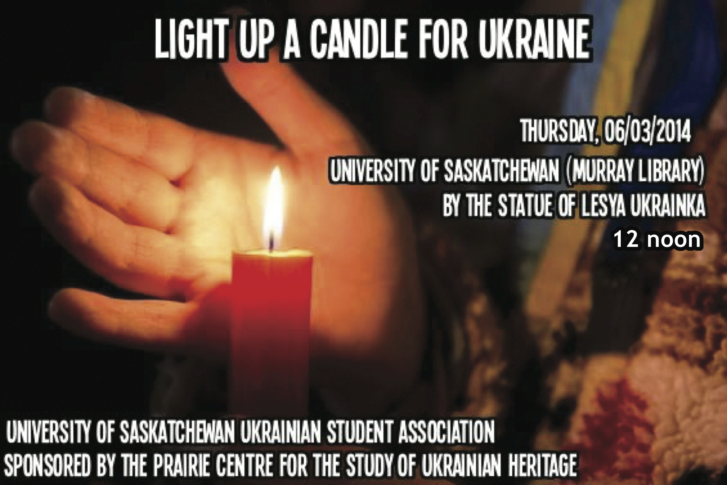 USUSA candlelight ceremony for Ukraine